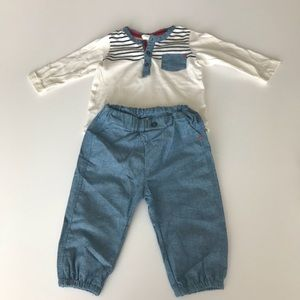 Baby boy matching set